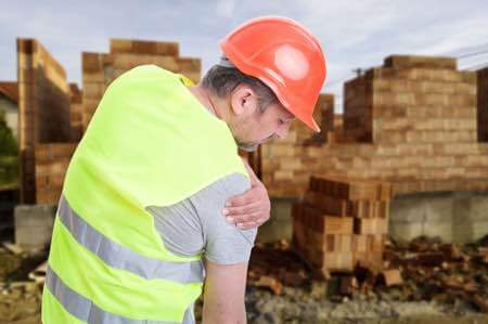 Workers' compensation for shoulder replacement surgery.