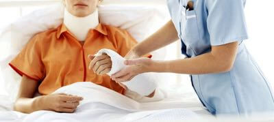 Workplace accident workers' compensation lawsuit.