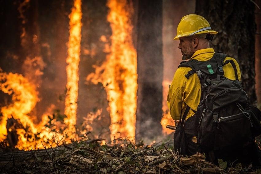 Prisoner Fight the California Wildfires