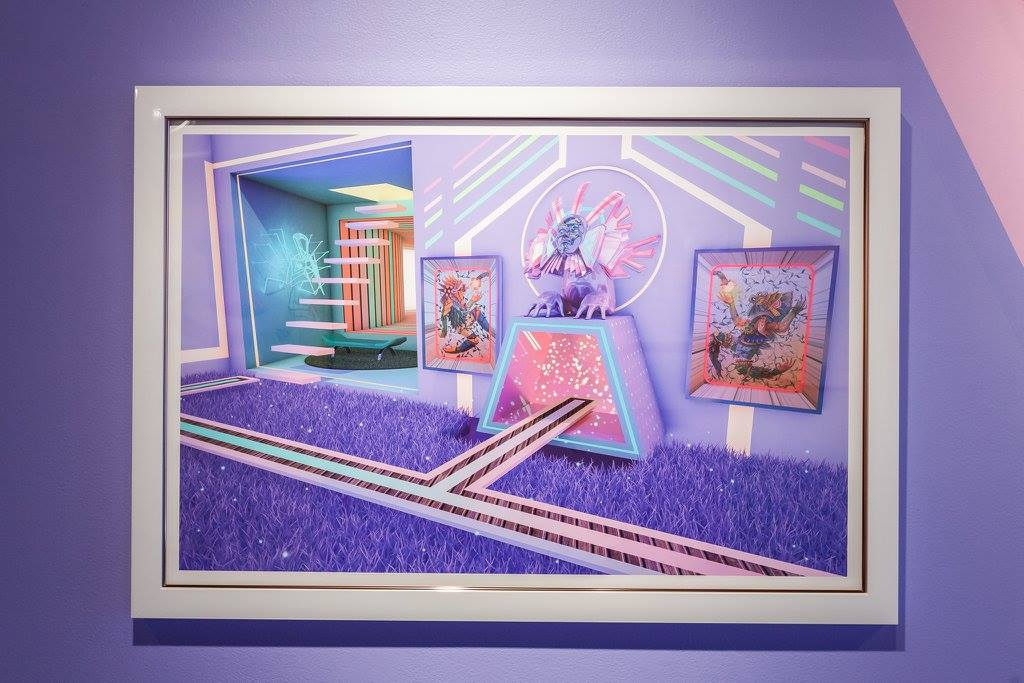 CHAPTER 6: FAMILIAR SCENT OF LILAC   Digital / Giclee print on fine art paper / printed by Static Medium