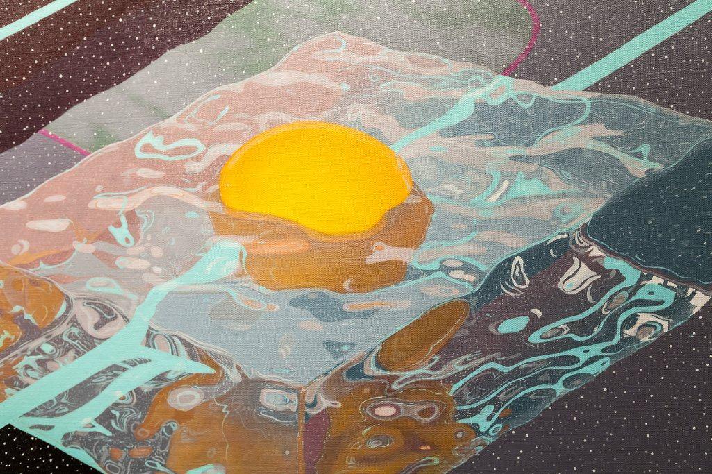detail of Galactic Omelette