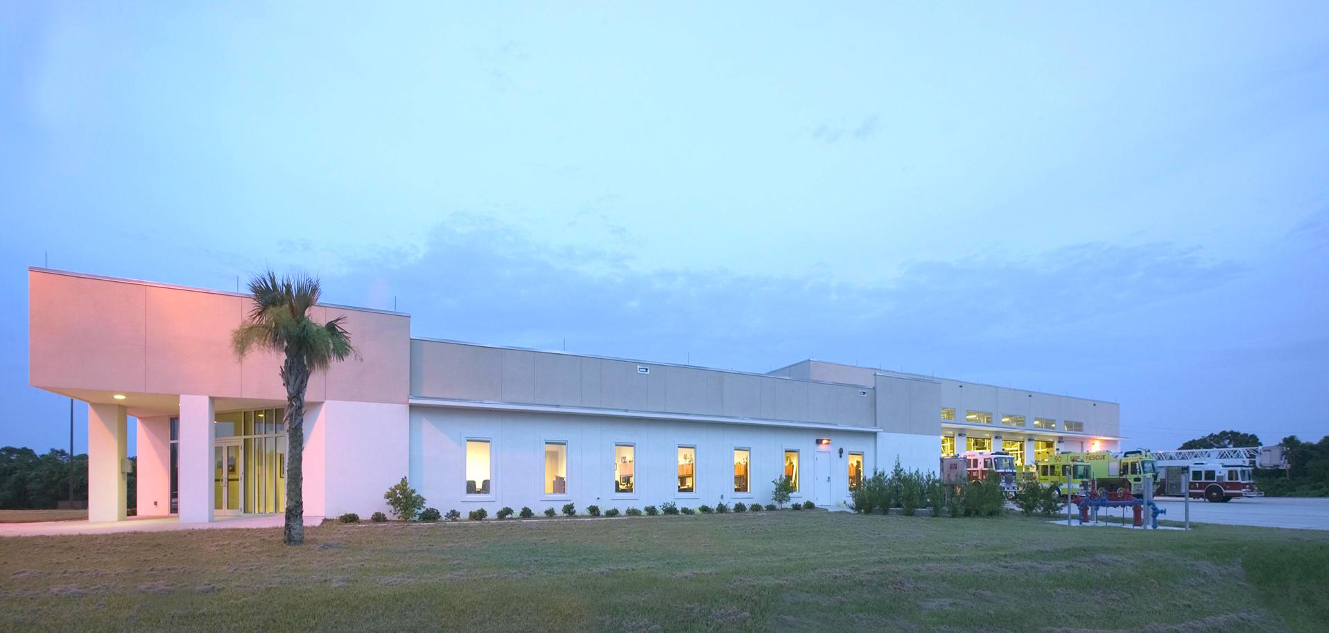 FIRE / CRASH RESCUE STATION    Cape Canaveral Air Force Station  Cape Canaveral, FL