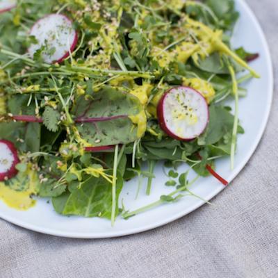 Kale Salad - Beyond Yoga