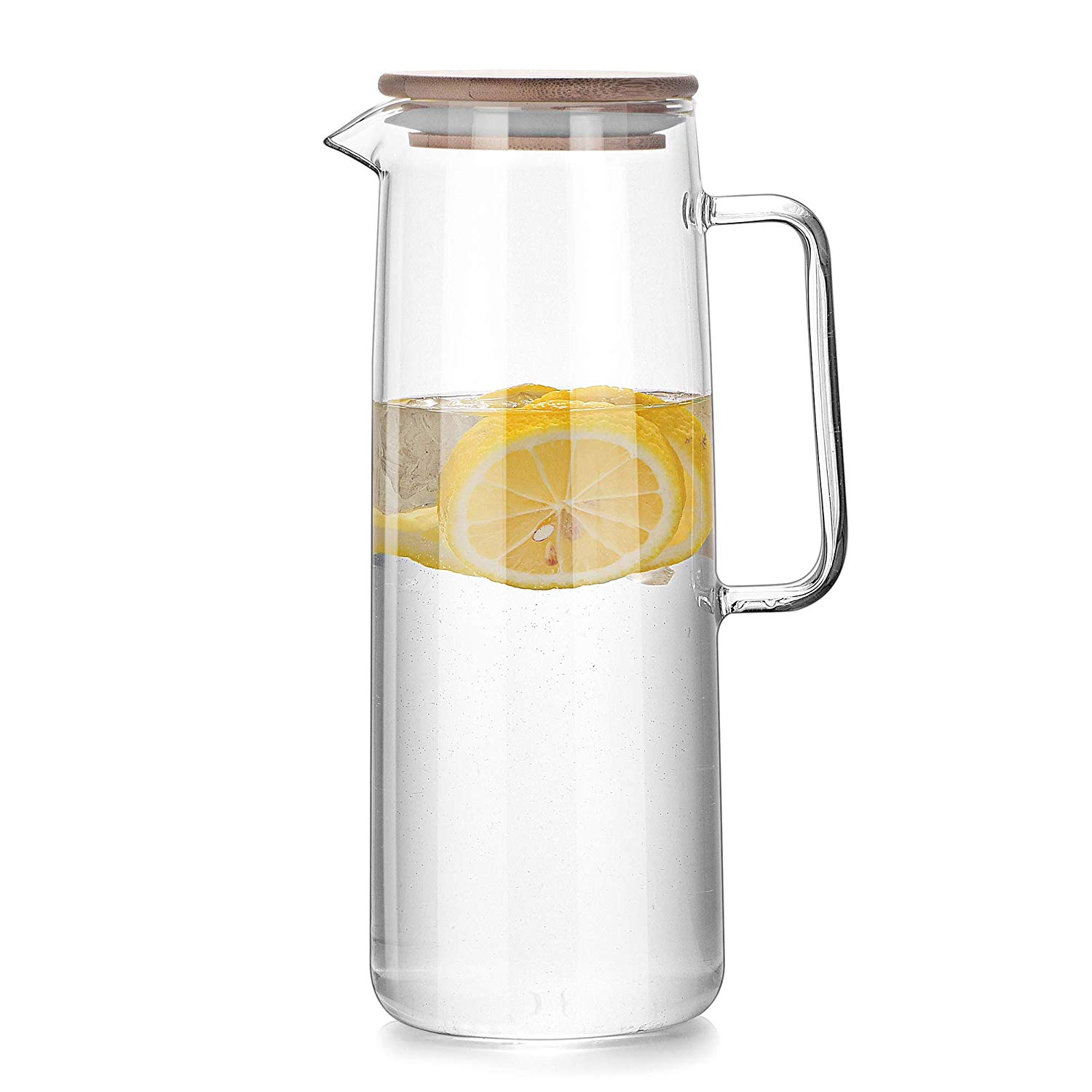 Hot/Cold Glass Carafe