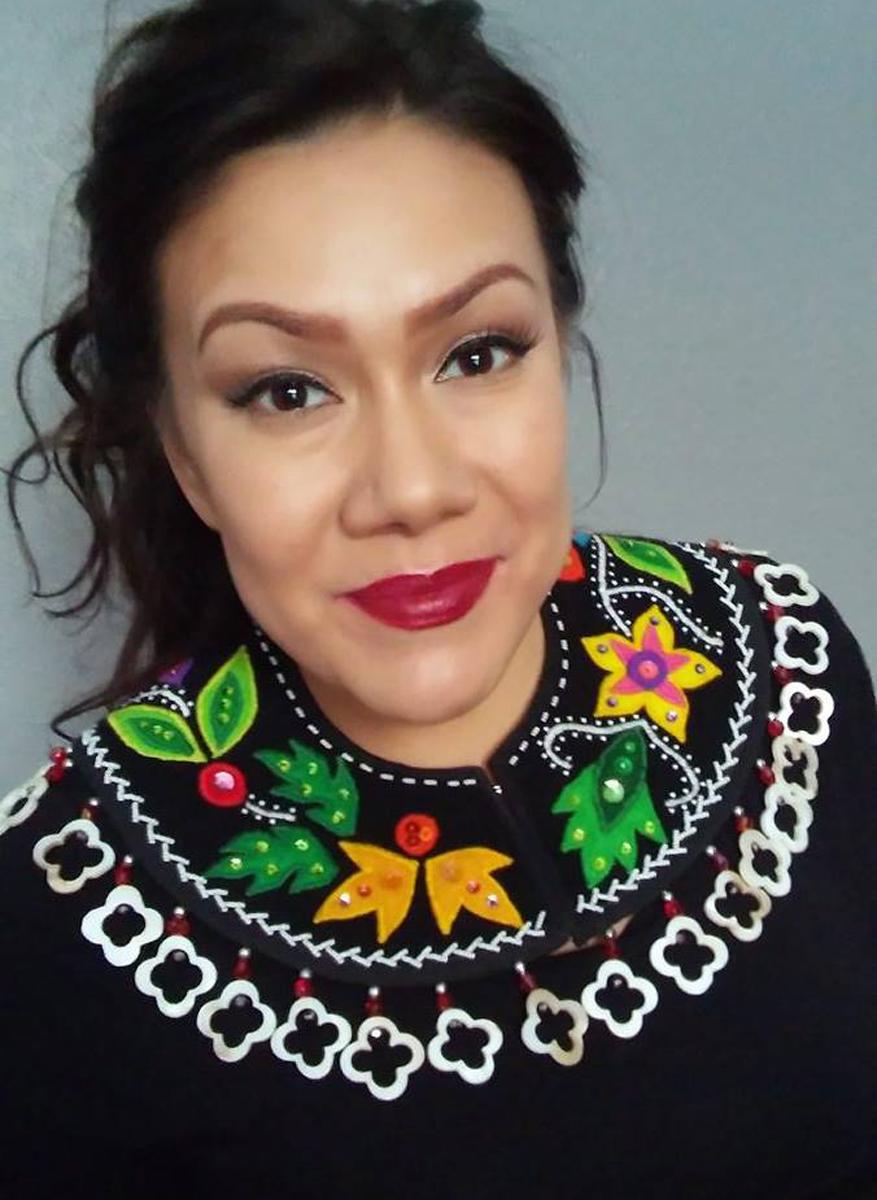 Anishinaabe Floral Collar