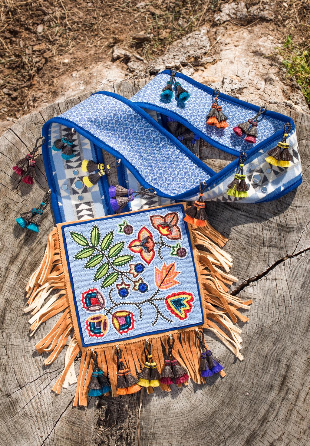 Anishinaabe Bandolier Bag