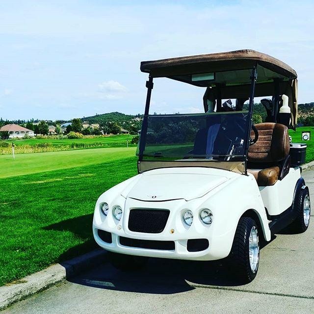 When you deserve a Bentley one way or another... #Bentley #continentalgt #golf #richkidsofinstagram #insurance