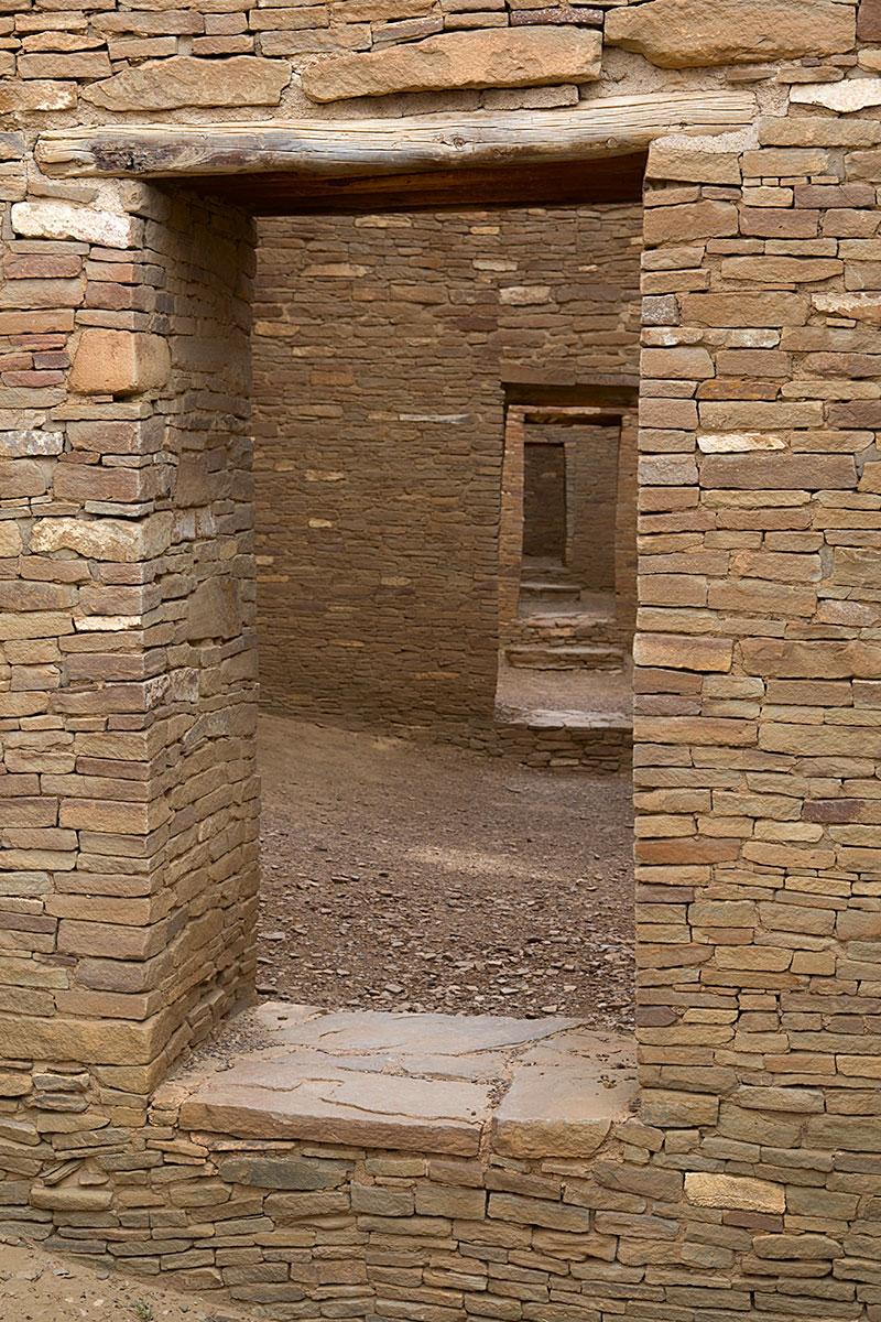 Doorways, Pueblo Bonito, Chaco Canyon, NM