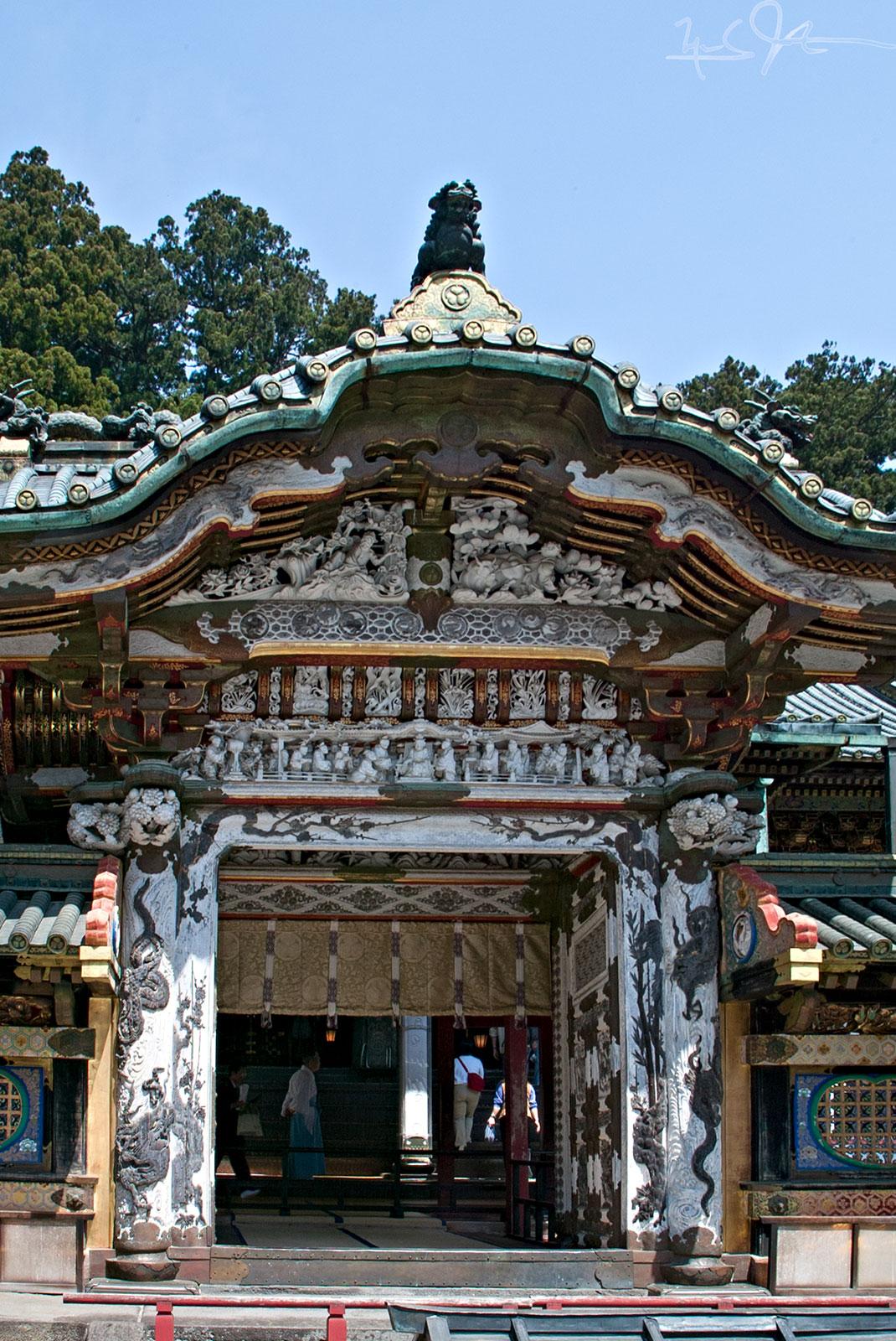 Karamon Gate, Nikko, Japan