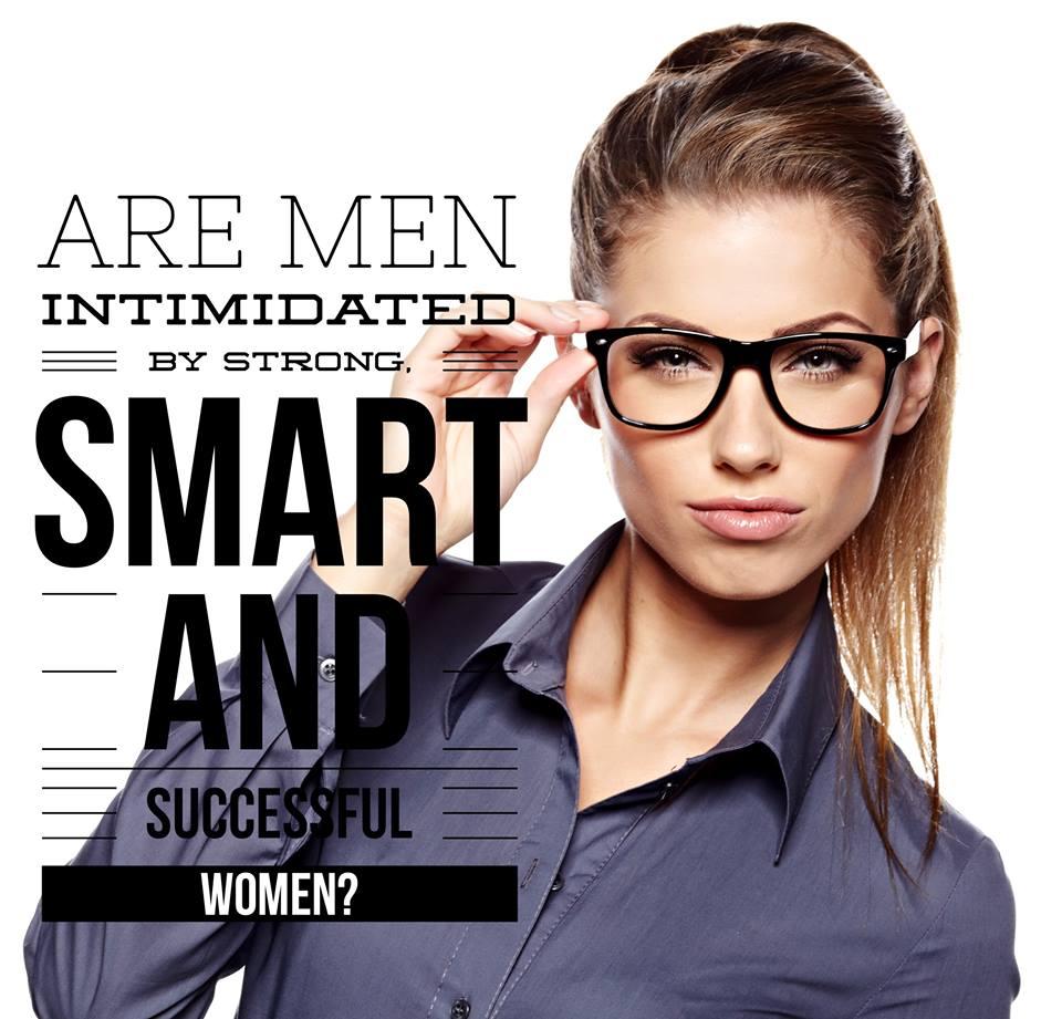 Intimidated men women by Attractive Men