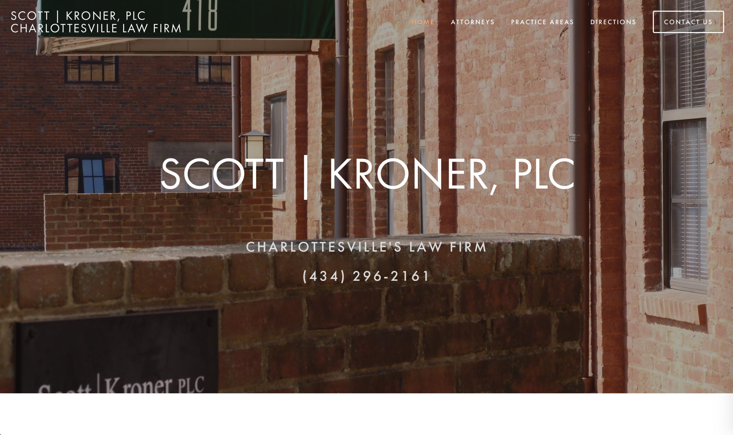 Website Design - Scott Kroner PLC