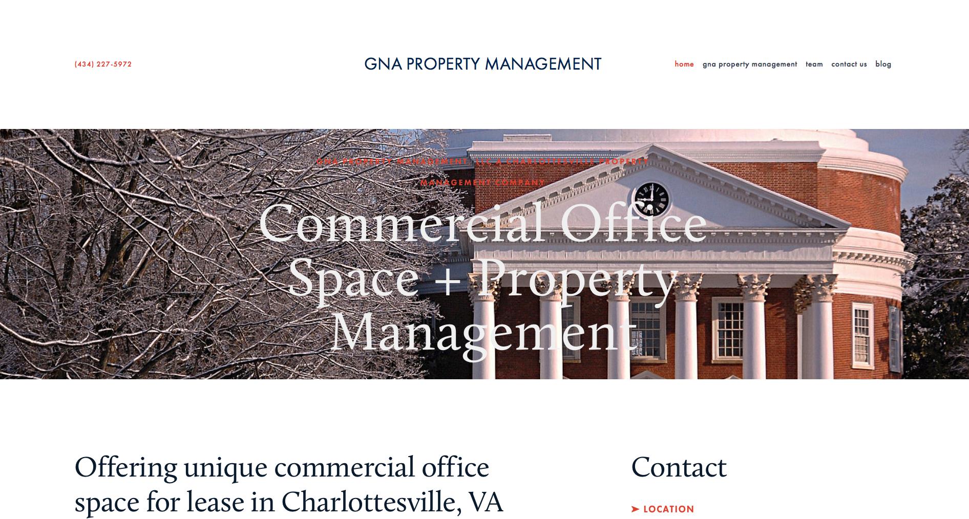 Website Design - GNA Property Management