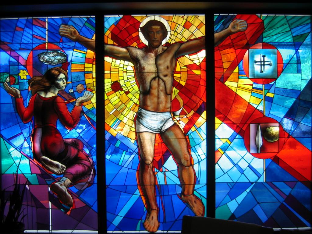 """Risen"".  St. Patrick's Hospital.  Missoula, MT."