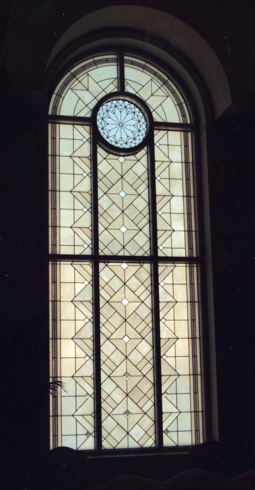 Detail.  St. Louis LDS Temple.