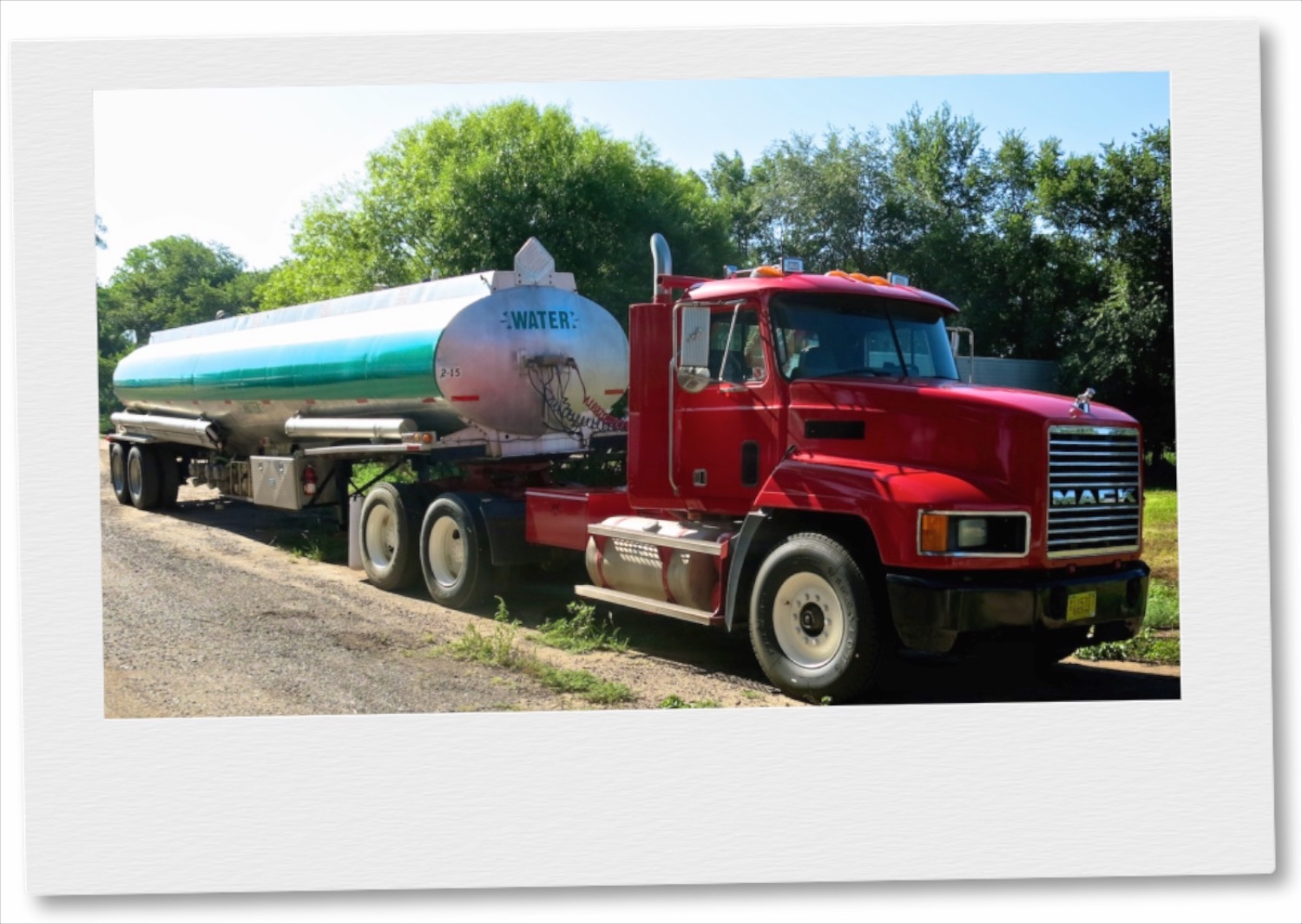 Potable Clean Drinking Water Tanker & Mobile Trailers.  Call Wayne Elliott for details (505) 328-0909.     ElliottLocationEquipment.com