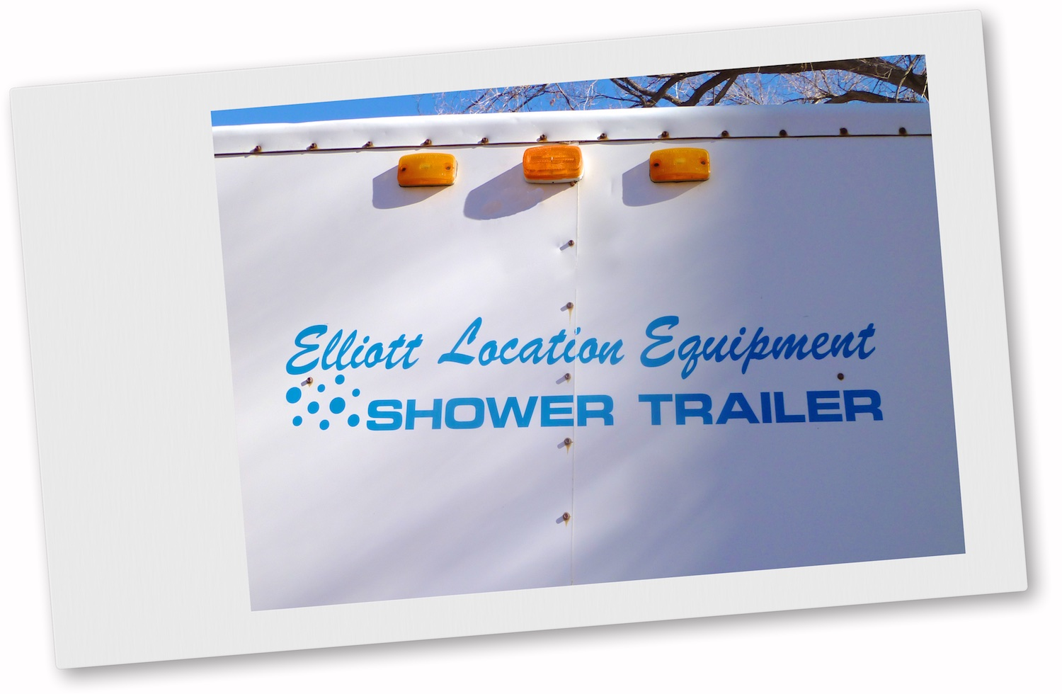 Shower Trailer. Four private units, each has private dressing area & sink with drinking water. Call Wayne Elliott for details (505) 328-0909.  ElliottLocationEquipment.com