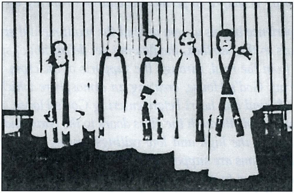 Eightieth Anniversary Clergy Chaplain Beck Rev.' s Bahr, Dietrich, Sandmann & Hoffman