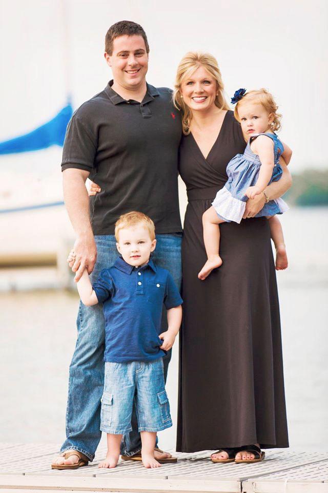 Rev. Duncan McLellan, Alissa, and children Thomas and Sarah