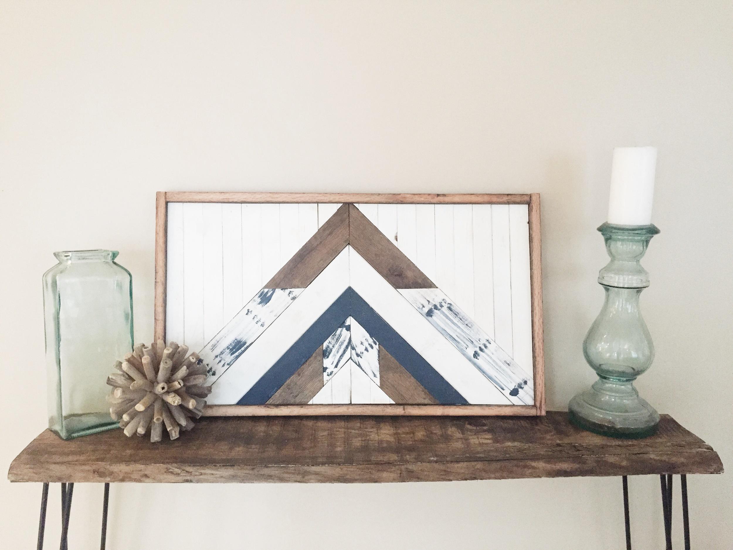 Aztec Triangle Design