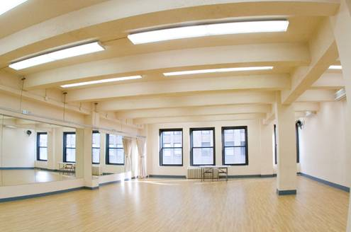 The inside of an audition room at Pearl Studios