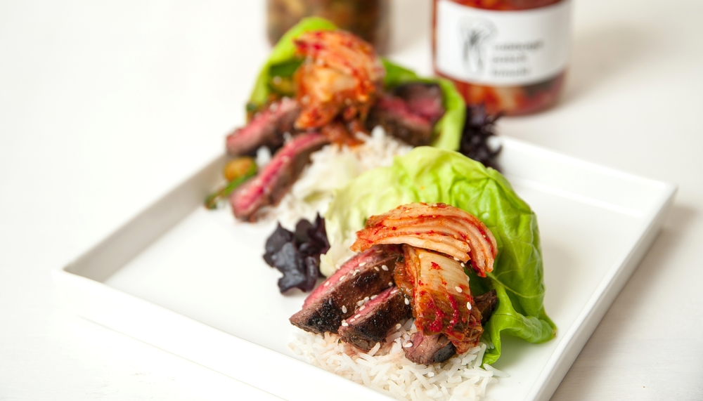 Skirt Steak Ssam -