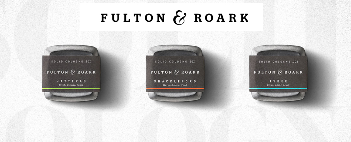 Each Fulton & Roark fragrance is designed to evoke a vivid feeling, and a sense of atmosphere and occasion. Using a blend of naturally sourced essential oils and premium fragrance ingredients, each cologne offers its own experience.    These highly concentrated solid colognes offer a long-lasting and steady fragrance designed to keep you fresh. The solid metal containers travel easily in a gym bag, pocket or carry-on, always with you no matter where you go.
