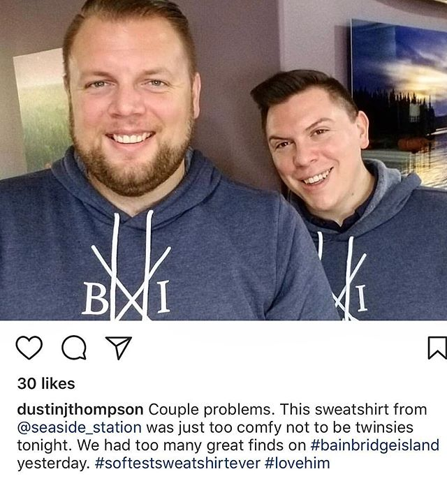 This made us so happy. We just love when customers love our products. We also have to agree - these are the coziest sweatshirts. We have them in navy, forest and a black zip up version. Available in our online store