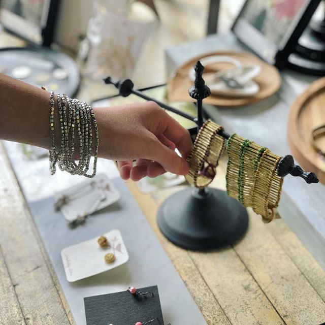Great selection of bracelets and rings stocked in the shop