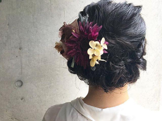 . 花火大会やお祭りにヘアセットいかがですか?* .
