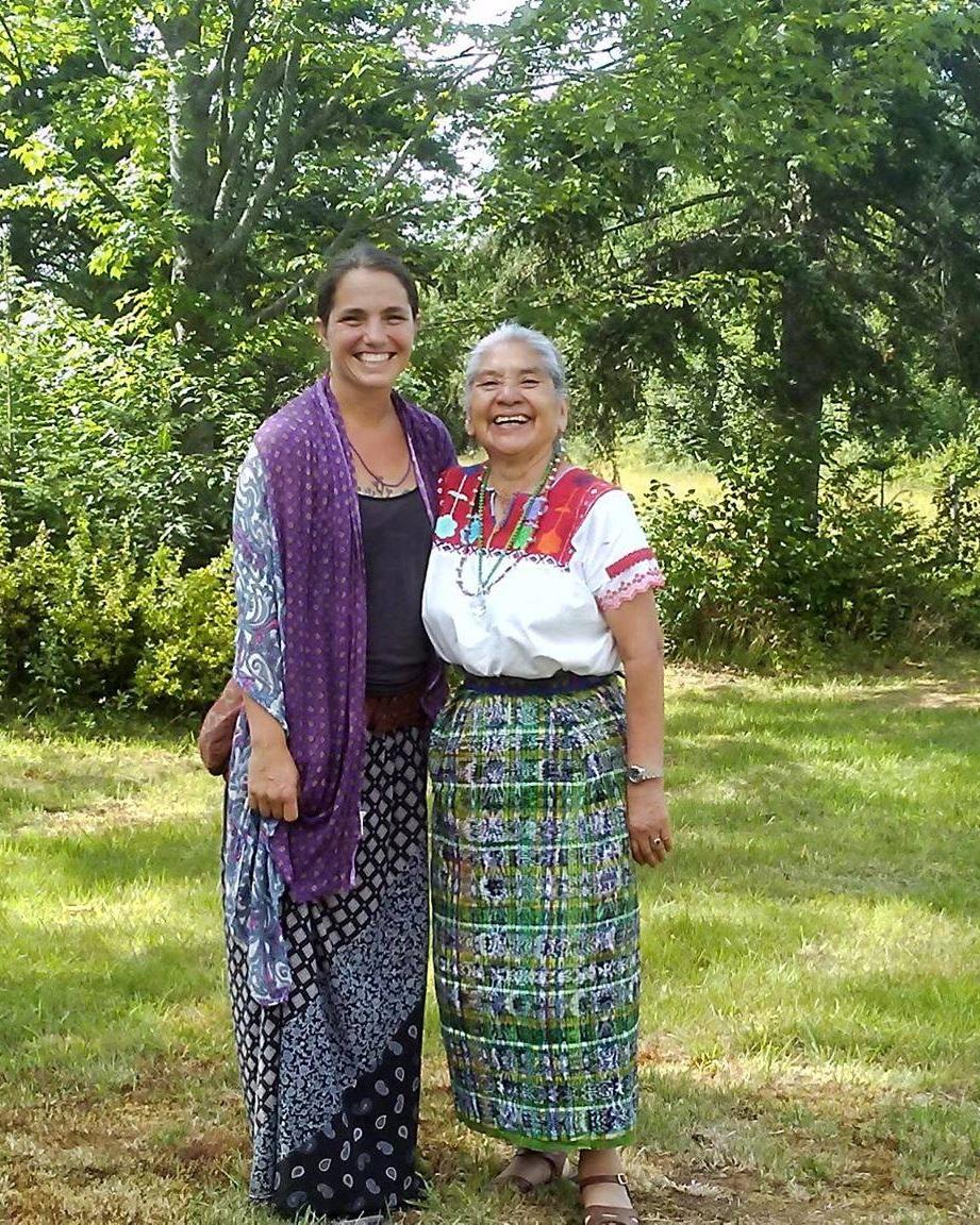 Katrina Coravos and Nana Wilma.