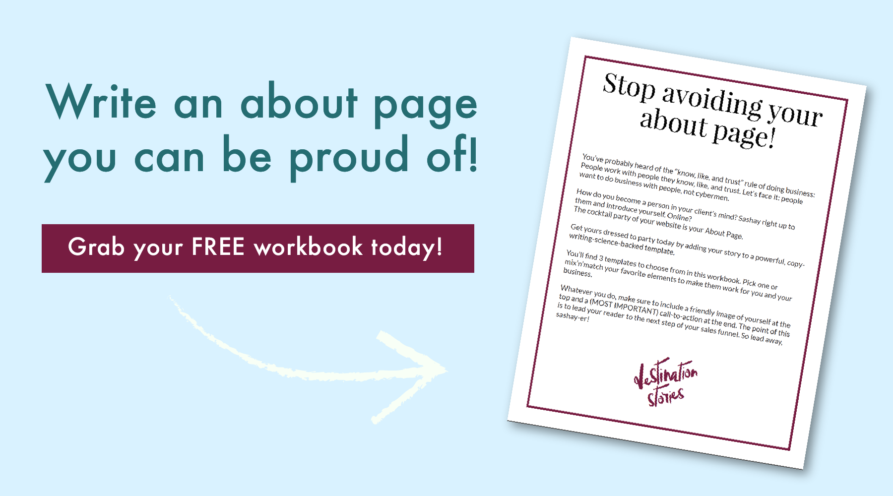 Write an about page you can be proud of!