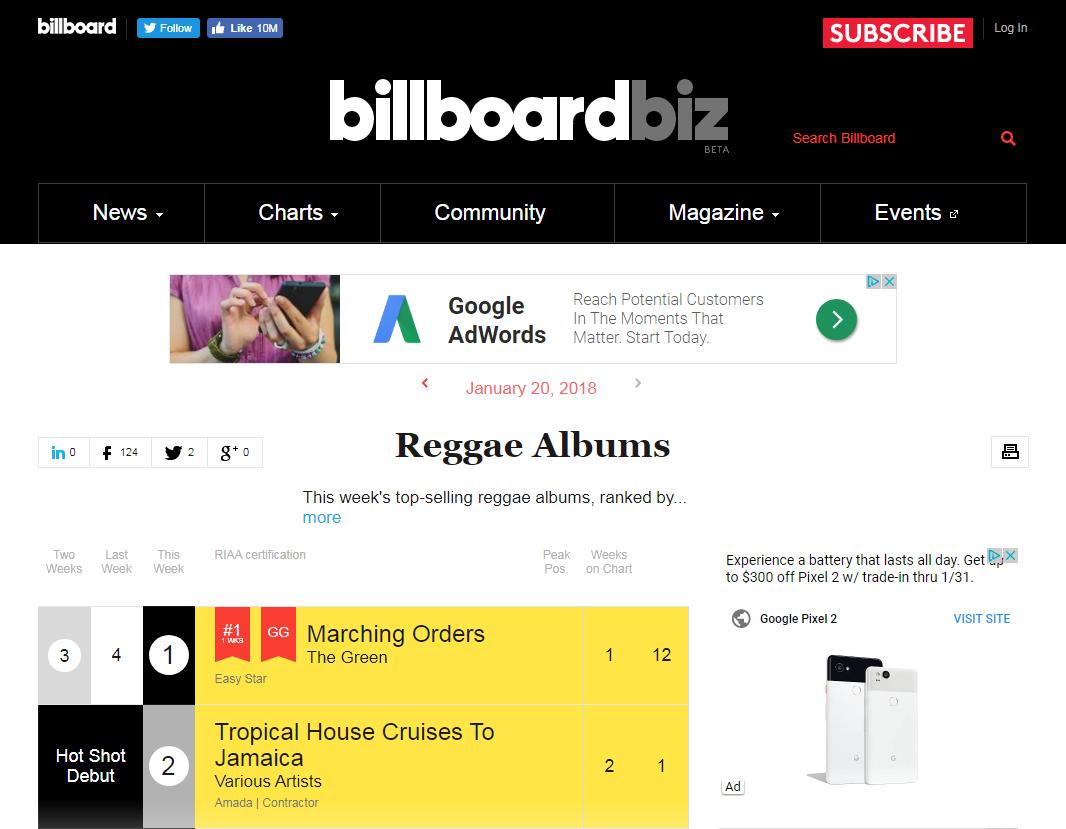 Billboard Reggae Chart Debut 3.png