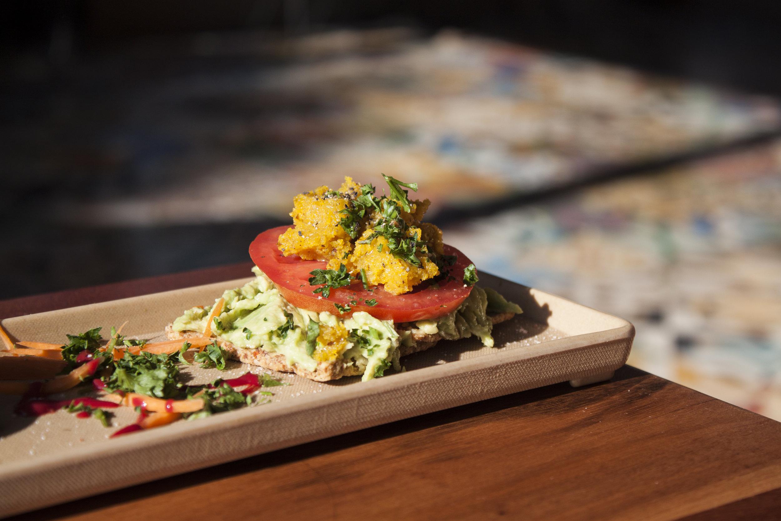 Wild Living Foods located in Downtown is one of the best vegan restaurants in LA. Vegan avocado toast