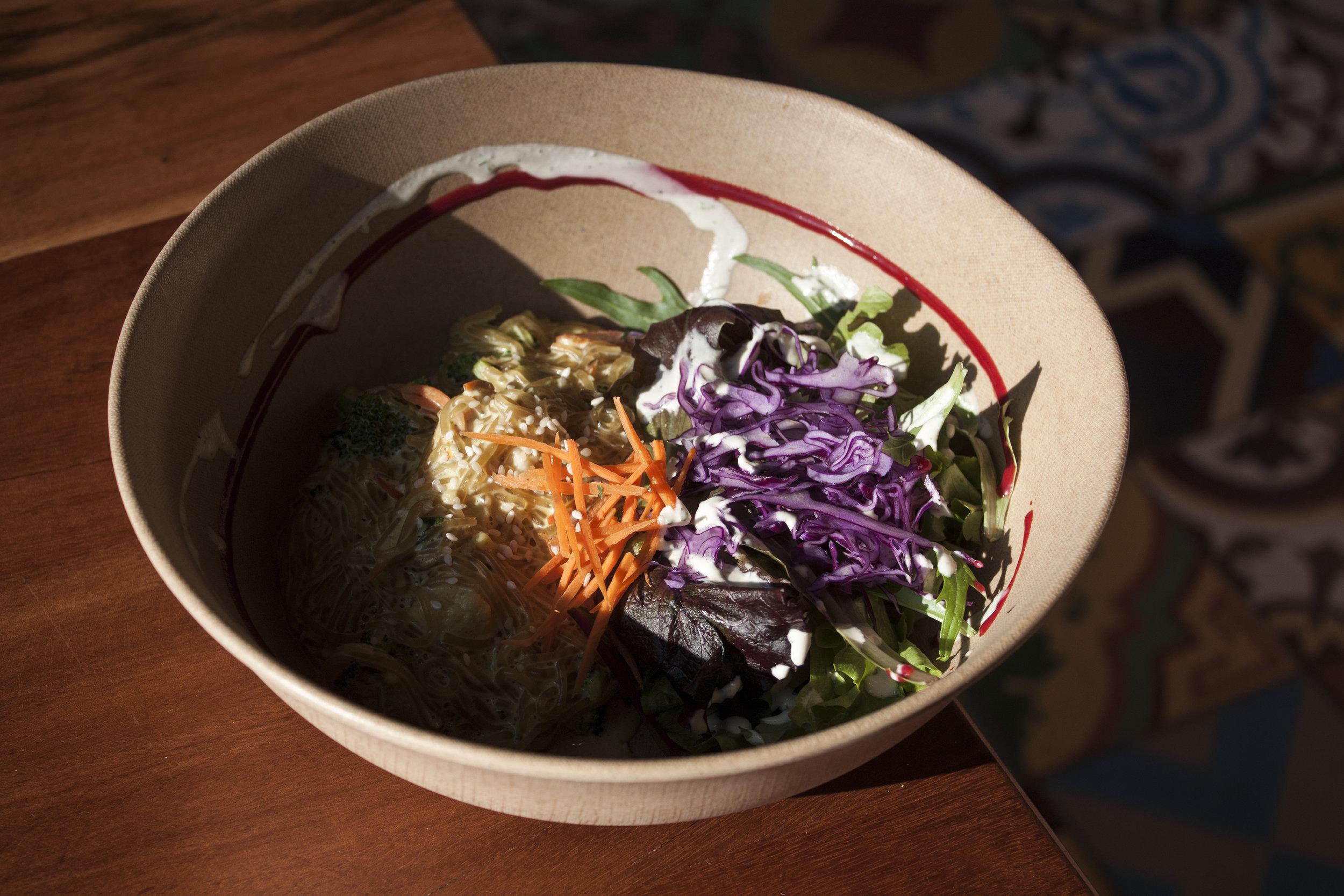 Wild Living Foods located in Downtown is one of the best vegan restaurants in LA. Vegan pad thai aka Rad Thai is a must order.