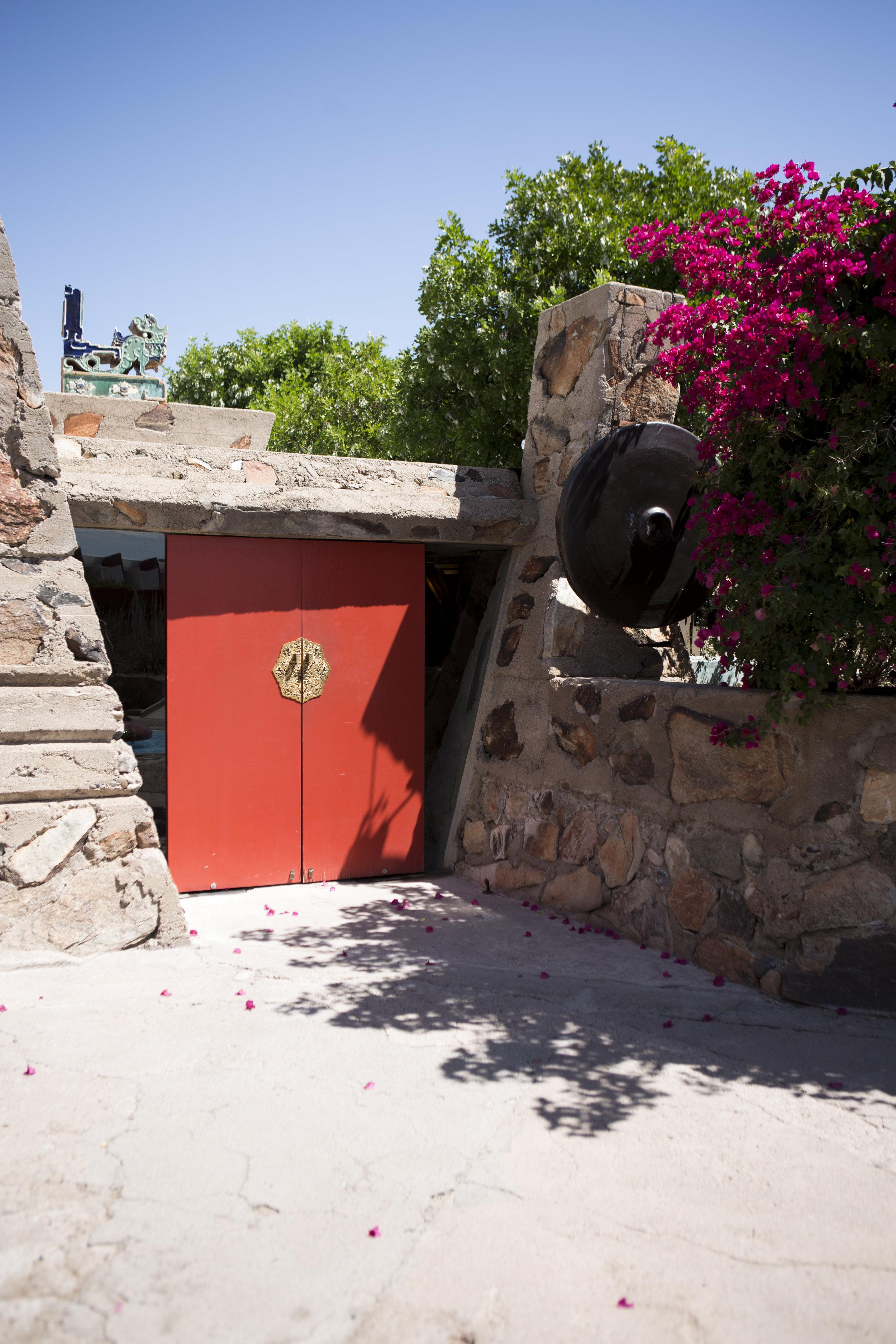 Frank Llyod Wright Taliesin West Scottsdale Arizona