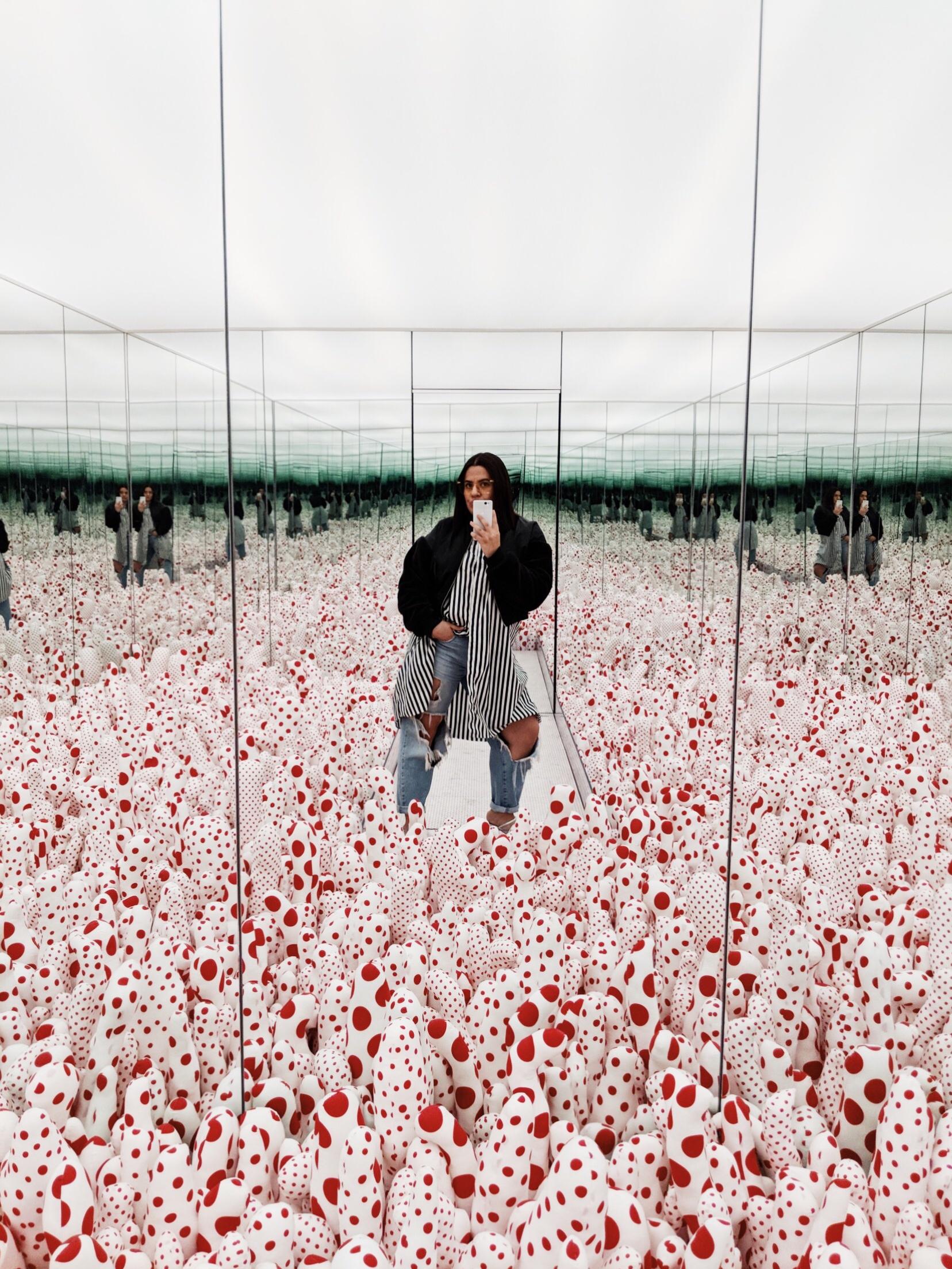Yayoi Kusama at The Broad, Pixel 2 Camera