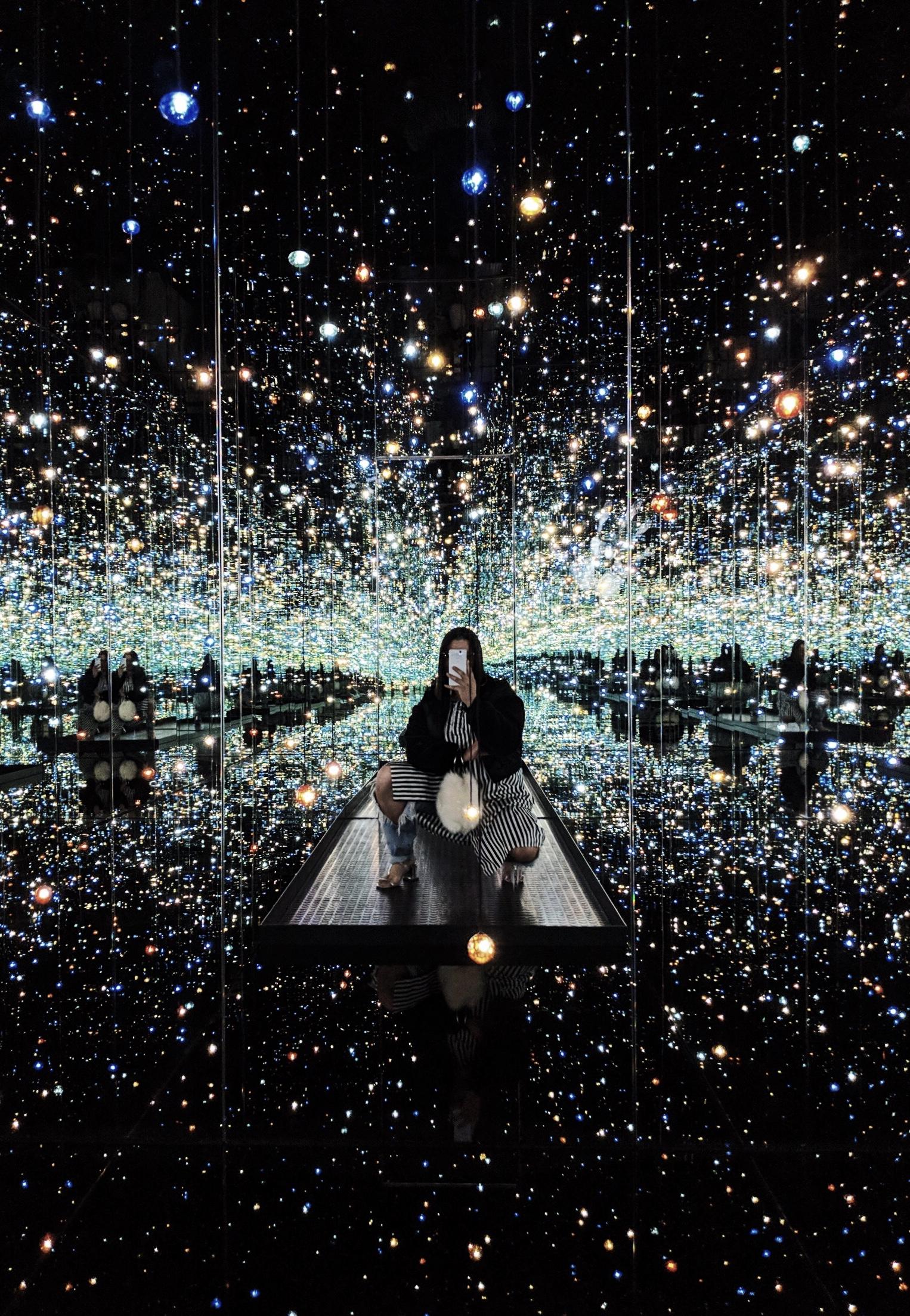 Yayoi Kusama at The Broad, Pixel 2 Camera Review