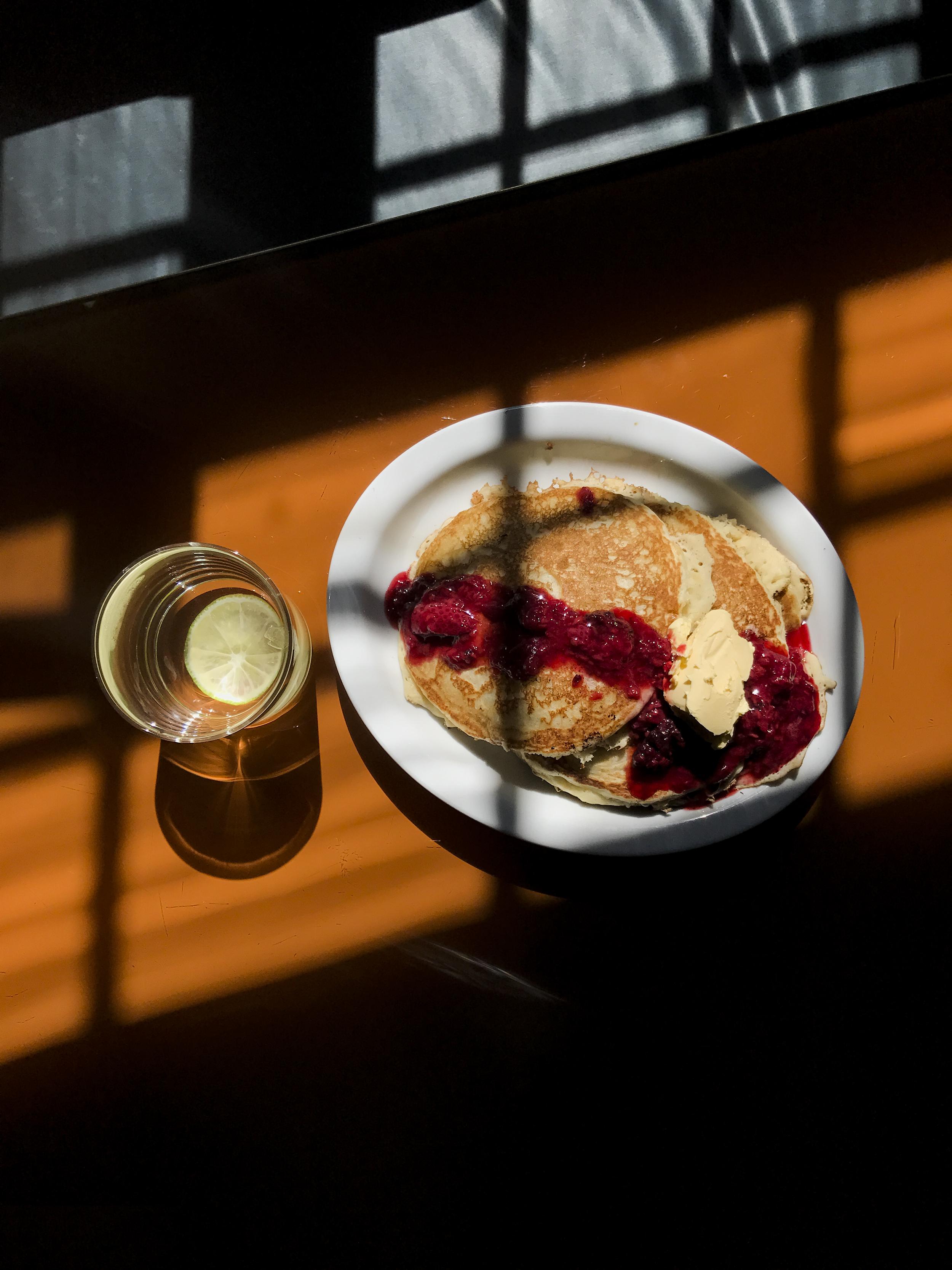 Pancakes at Casa Fayette