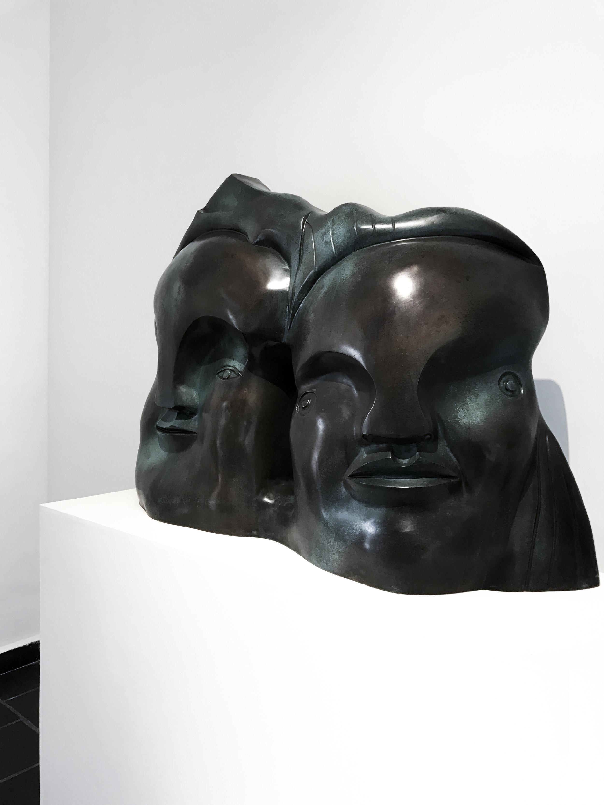 Sculpture by  José Luis Cuevas