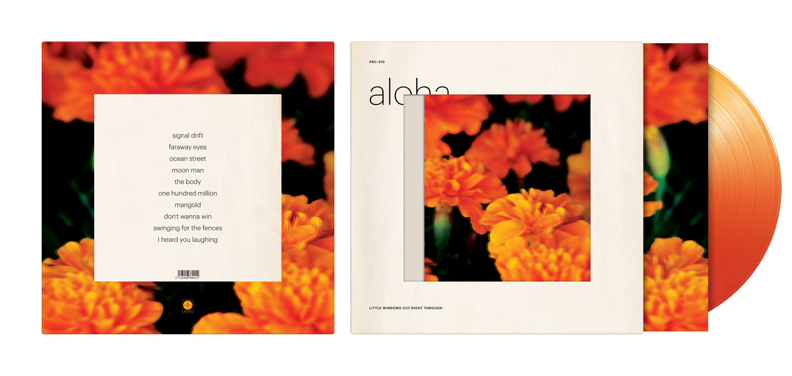 This unused version of the album art employed various techniques such as die cutting and lenticular printing, but unfortunately was not financially feasible.