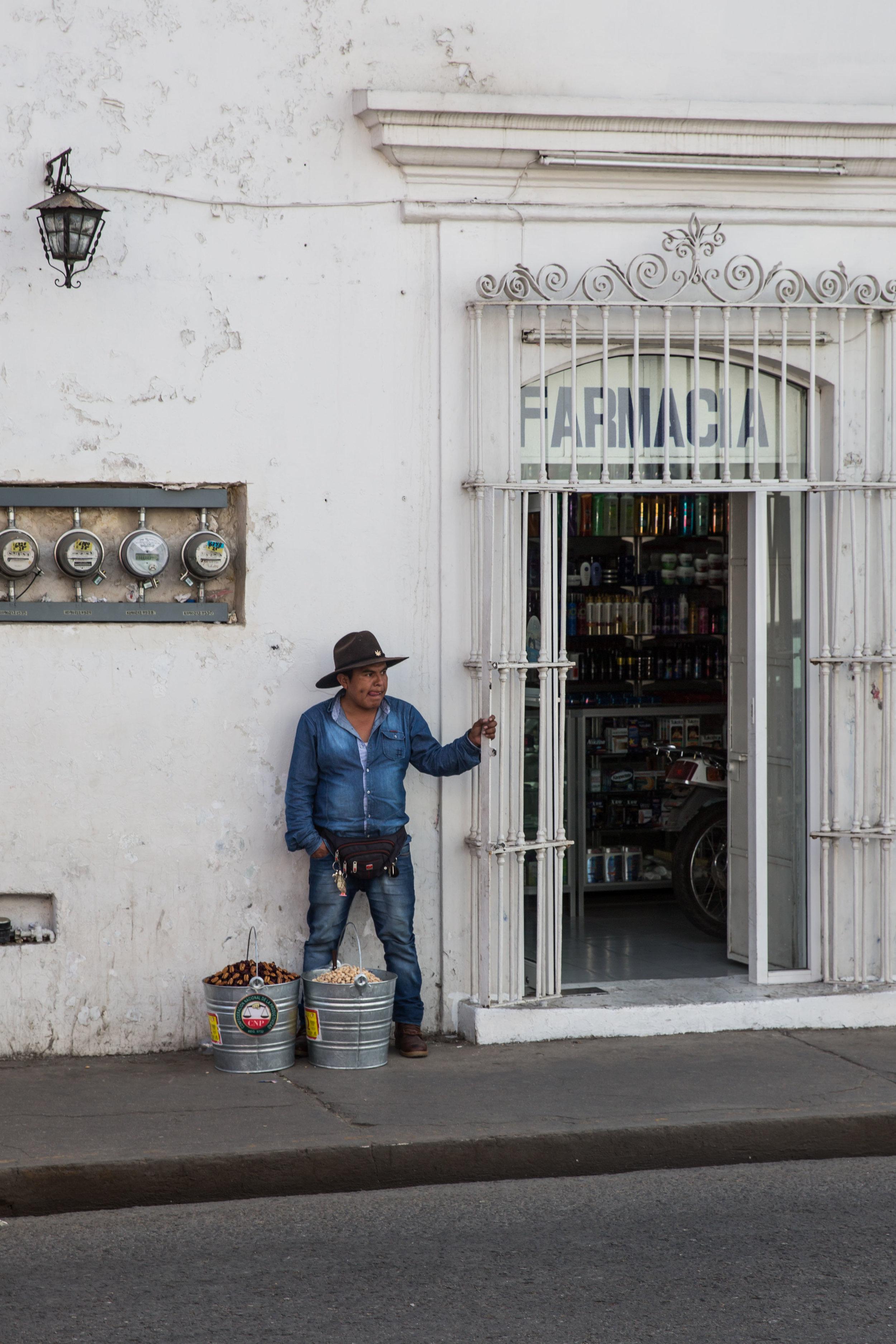 Street life, Oaxaca