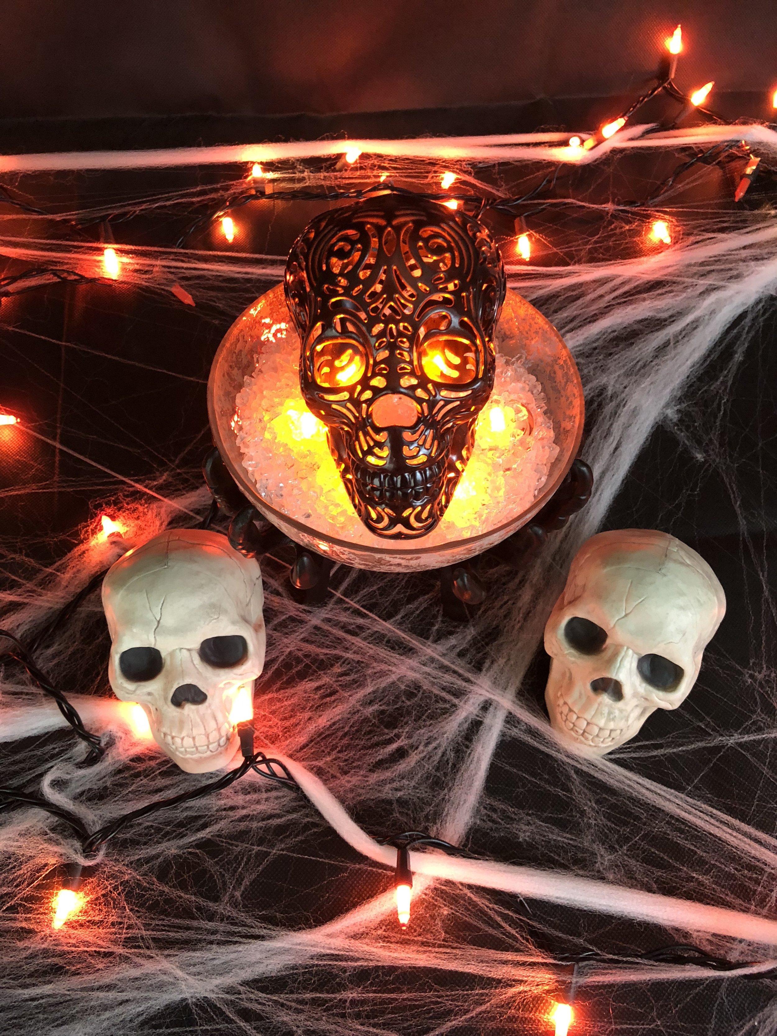 DIY Halloween Project - Galaxy Glass Skulls 1.jpg