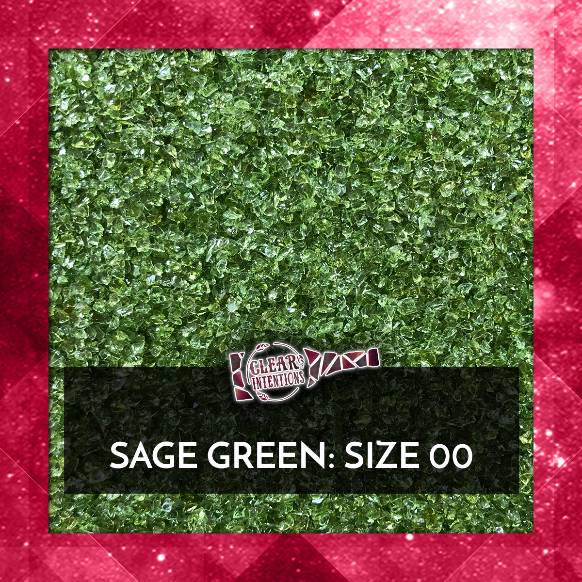 Sage Green Galaxy Glass | Recycled Crushed Glass.png