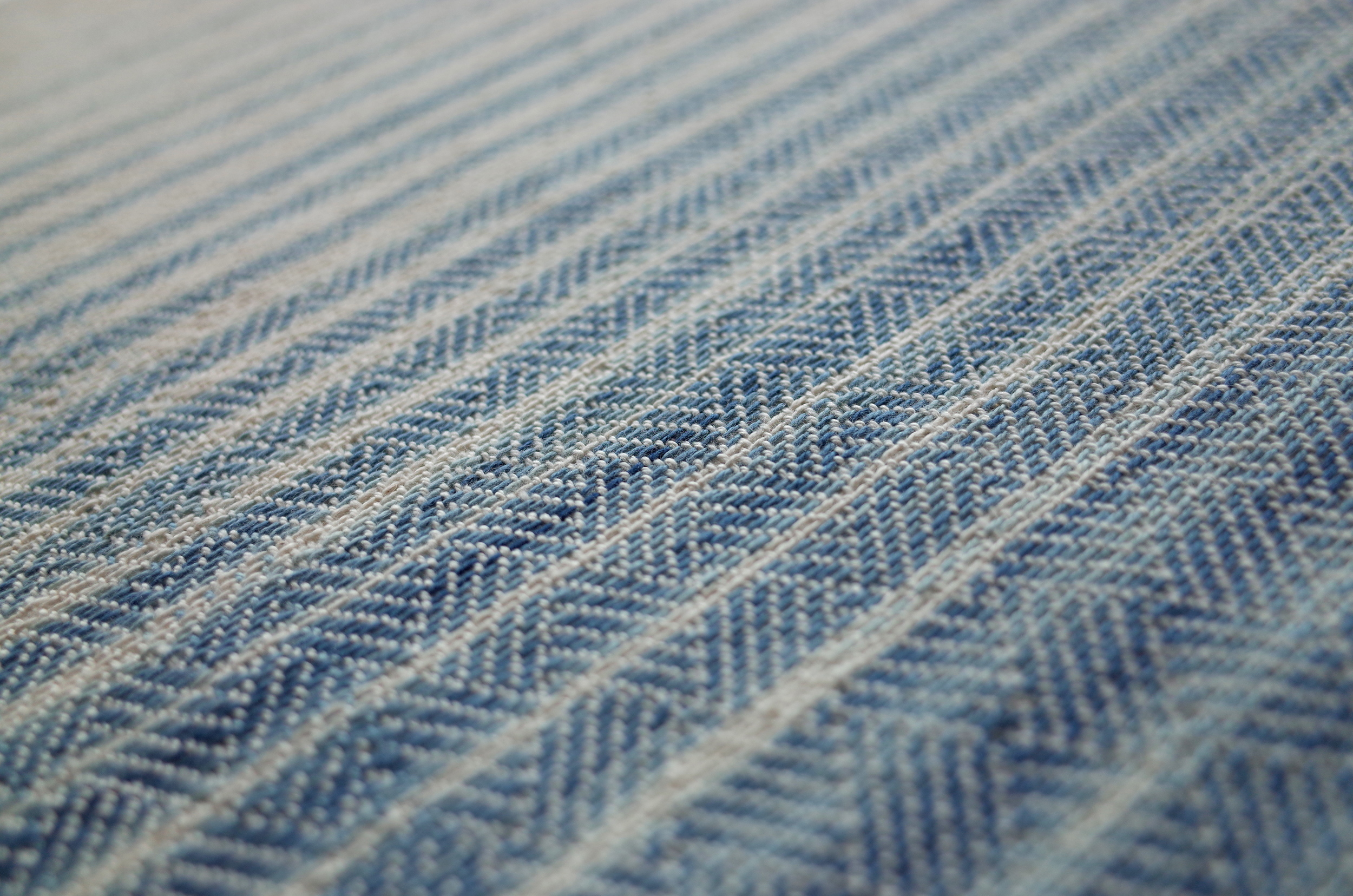 Finished weaving detail.