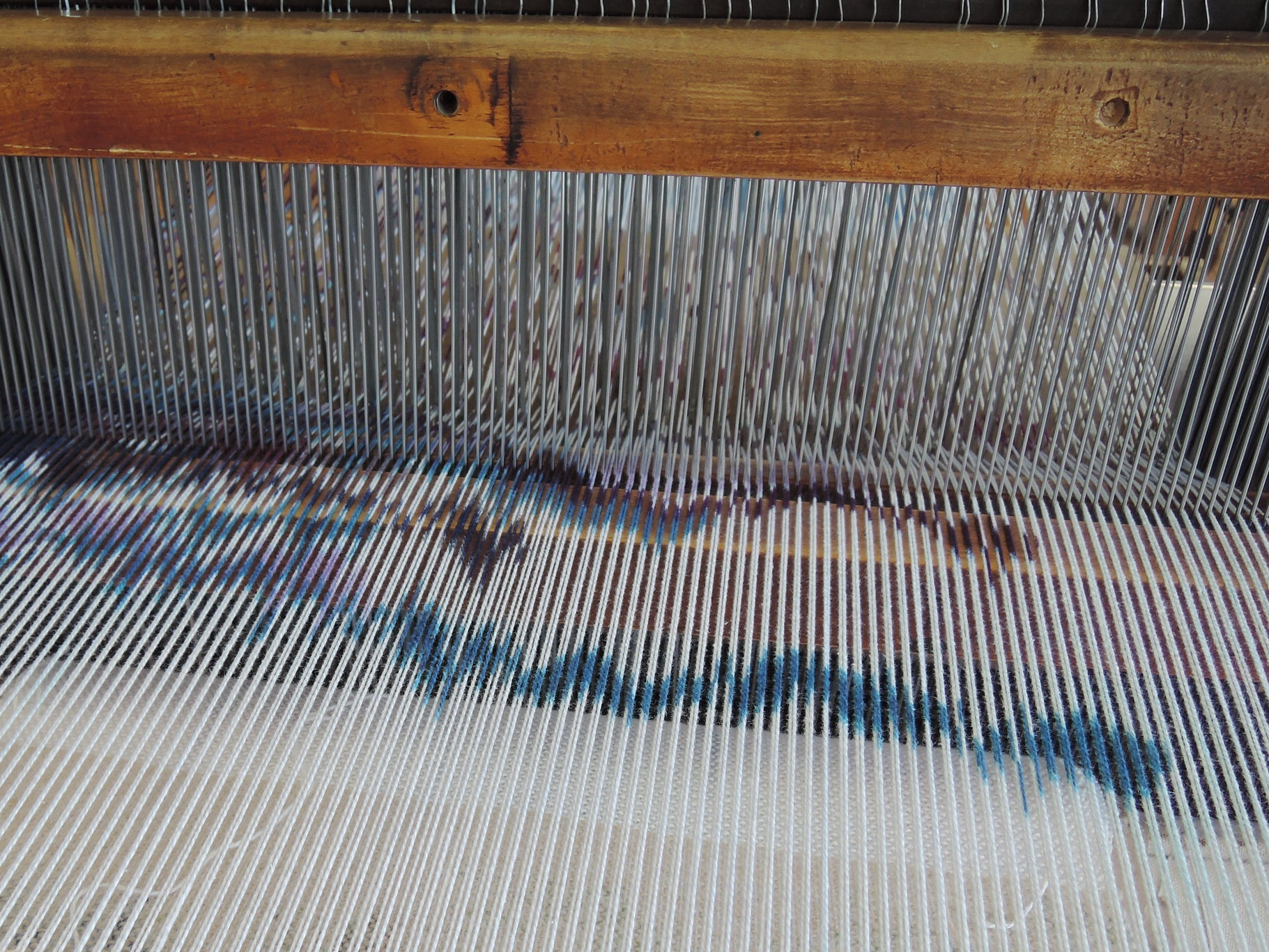 Ready to weave.