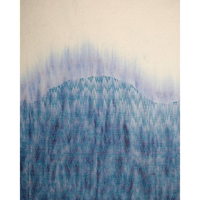 Artist talk tomorrow!  6:30pm ReCreative Denver  Come see all the work in person and hear about the expedition and research that informed the glacier inspired weavings.