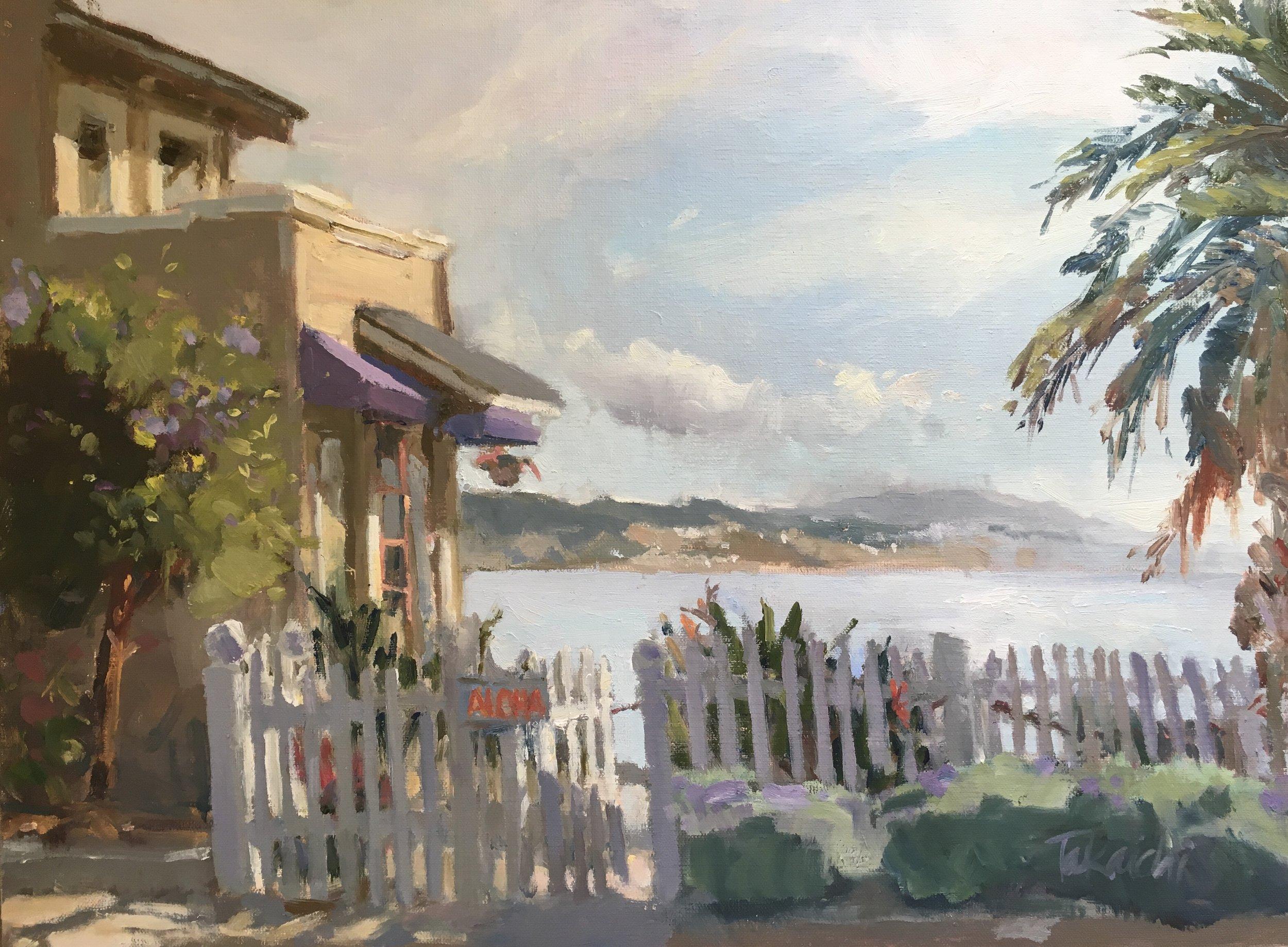 """""""The Aloha House"""" 12x16"""""""