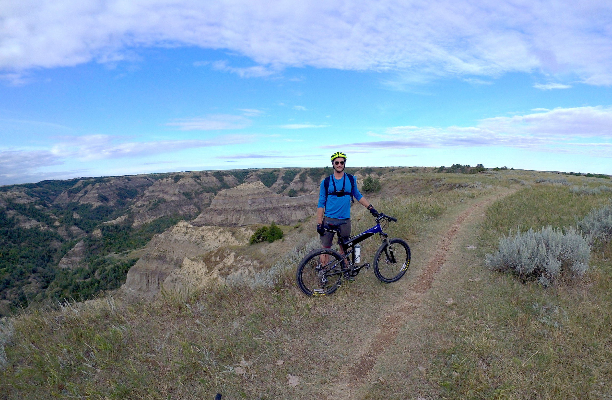 Maah Daah Hey trail, North Dakota