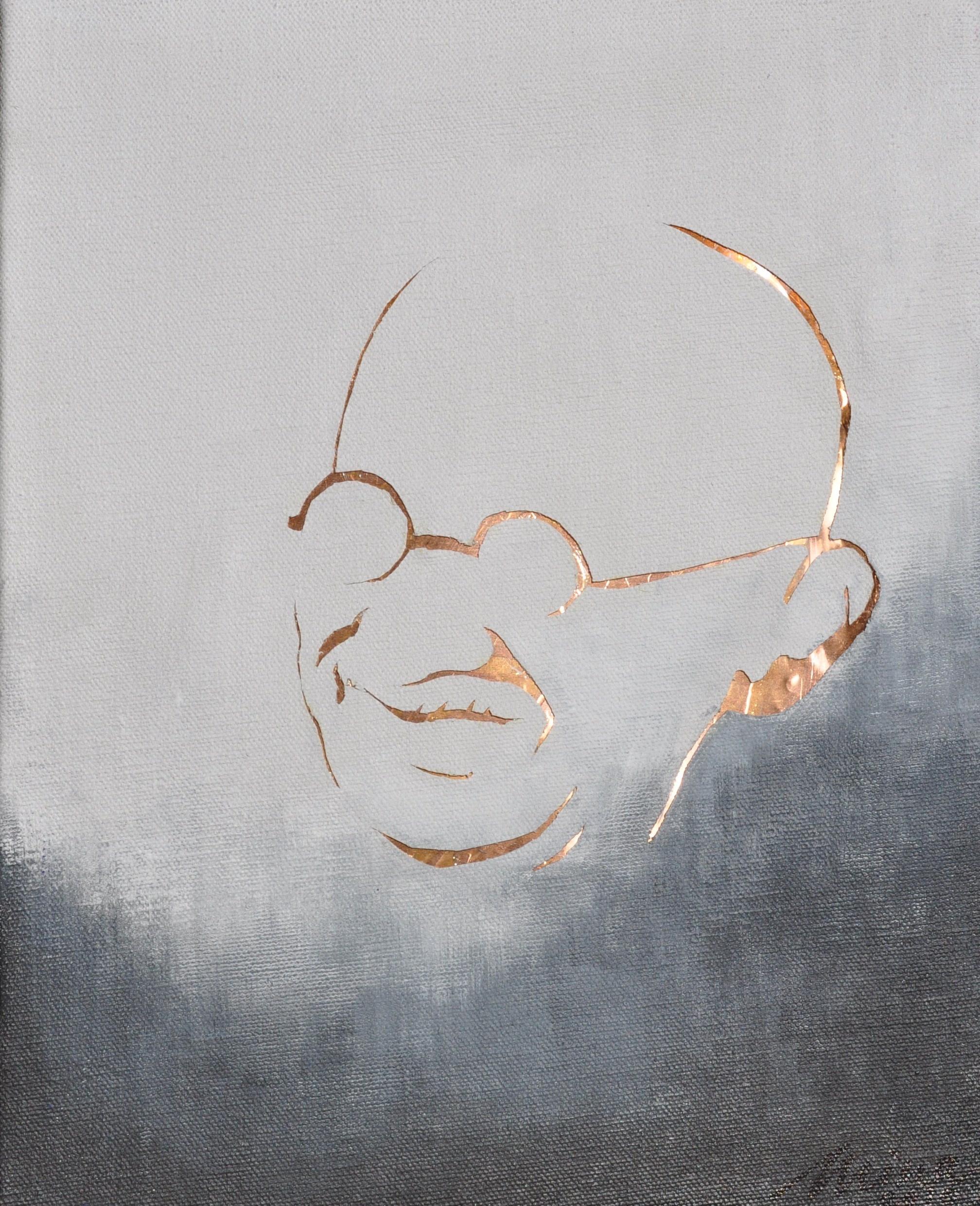 Gandhiji, from Darkness to Light