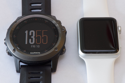 Garmin Fenix3 vs Apple Watch Sport